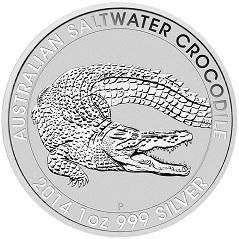 Silber Salzwasser Krokodil