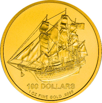 Gold Cook Islands