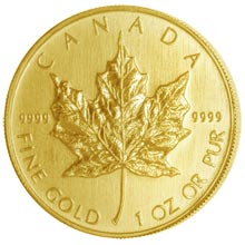 Gold Maple Leaf